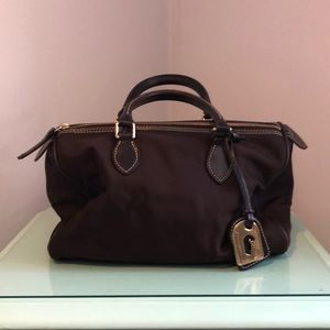 Dooney & Bourke dark brown satchel
